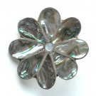 Abalone Flower Vintage belt buckle
