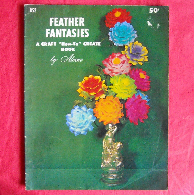 Vintage Feather Fantasies By Aleene 1966