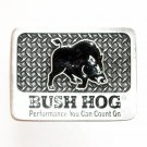 Bush Hog Performance You Can Count On Pewter Belt Buckle