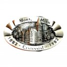 Mora Minnesota Centennial 3D Solid Pewter Belt Buckle