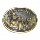 Vintage South Dakota Mount Rushmore Heritage Mint Solid Brass belt buckle