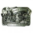Promontory Summit Utah Vintage 1982 Siskiyou Ames Tools Belt Buckle