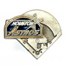 Houston Astros Baseball MLB Pewter GAP Belt Buckle
