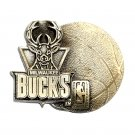 Milwaukee Bucks Basketball NBA Pewter GAP Belt Buckle