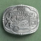 Montana Silversmiths 2001 Professional Rodeo Cowboys belt buckle