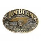 Jim Beam Bourbon Whiskey North Carolina Vintage Limited Edition Brass Belt Buckle
