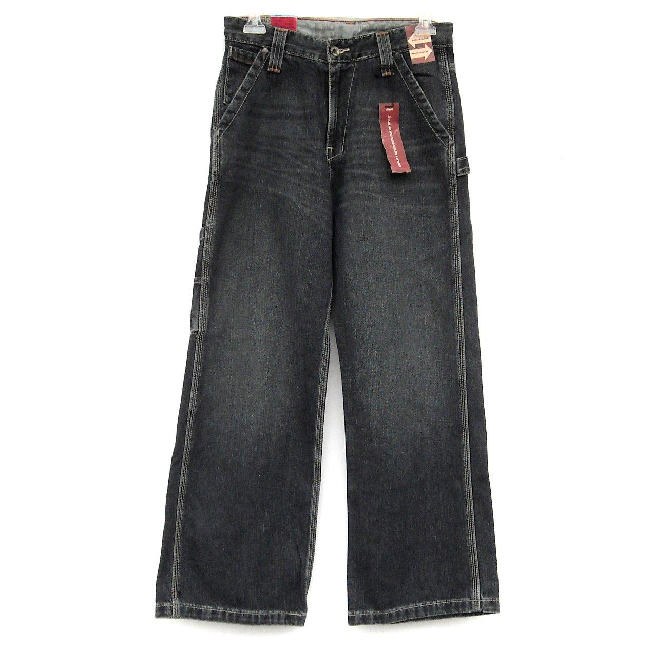 Levi's Painter Adj Waist Black Jeans Size 14 Regular