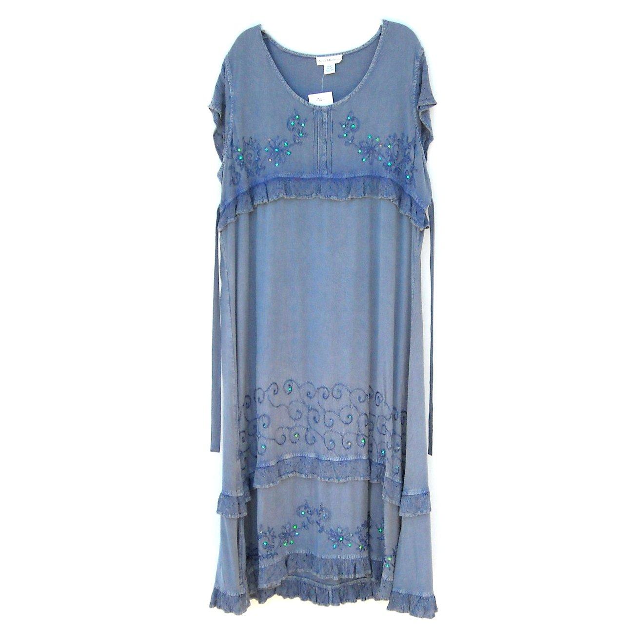 Anna Maxwell Womens Blue Dress Size 2XWP 22 NWT
