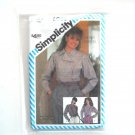 Misses' Shirts 3 Styles Size 16 Simplicity Sewing Pattern 6066