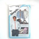 Mens Shirt Collar Variations Size 46 Simplicity Sewing Pattern 6138
