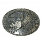Bull Rider Tony Lama Limited Edition Solid Brass Belt Buckle