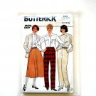 Misses Pants Skirt Size 12 - 16 Vintage Butterick Sewing Pattern 3342