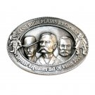 Hell on Wheels 3D Sass High Plains Regional 2006 Cheyenne Pewter Belt Buckle