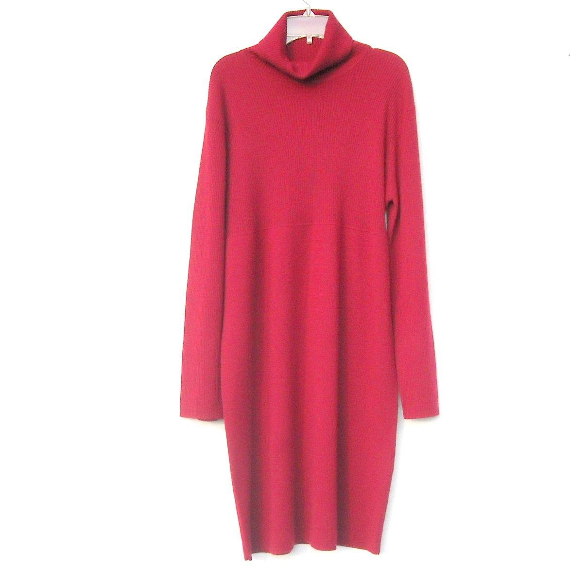 Mimi Maternity Knit Red Dress Size L