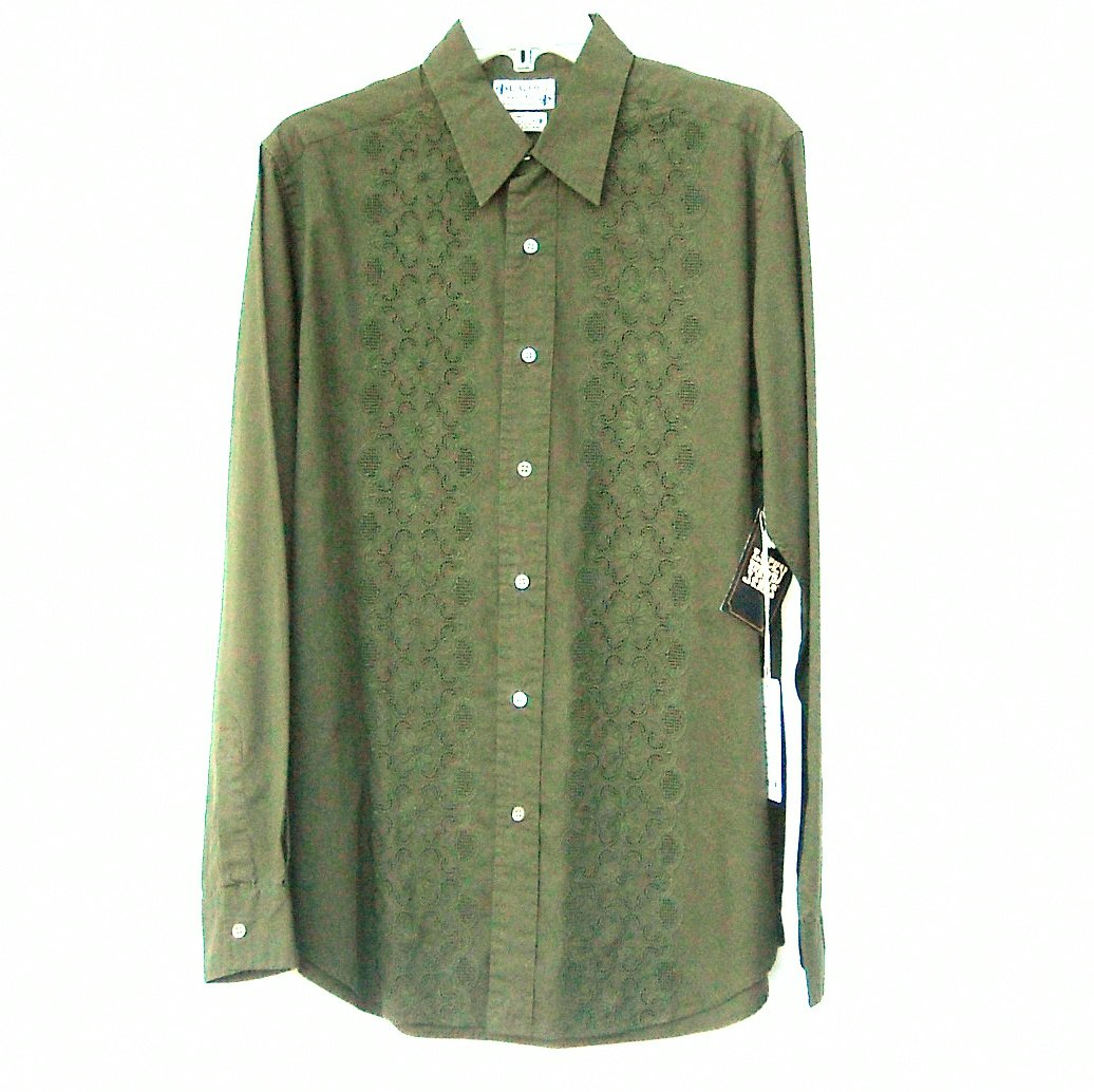Lucky Brand Jeans Young Mens Long Sleeve Shirt Size M