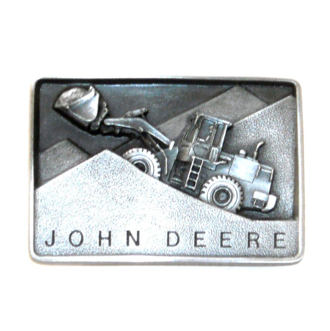 Heavy Equipment John Deere 3D 1988 Belt Buckle