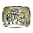 Vintage John Deere Iron Horse Tractor Bronze Belt Buckle