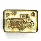 International Harvester Case Super 70 Nashville Edition Gold Color Belt Buckle