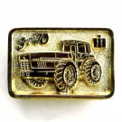 IH Super 70 Dallas Edition Gold Color Belt Buckle