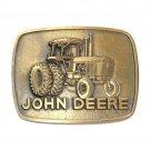 John Deere 4840 Tractor Vintage 1977 Belt Buckle Keyring Set