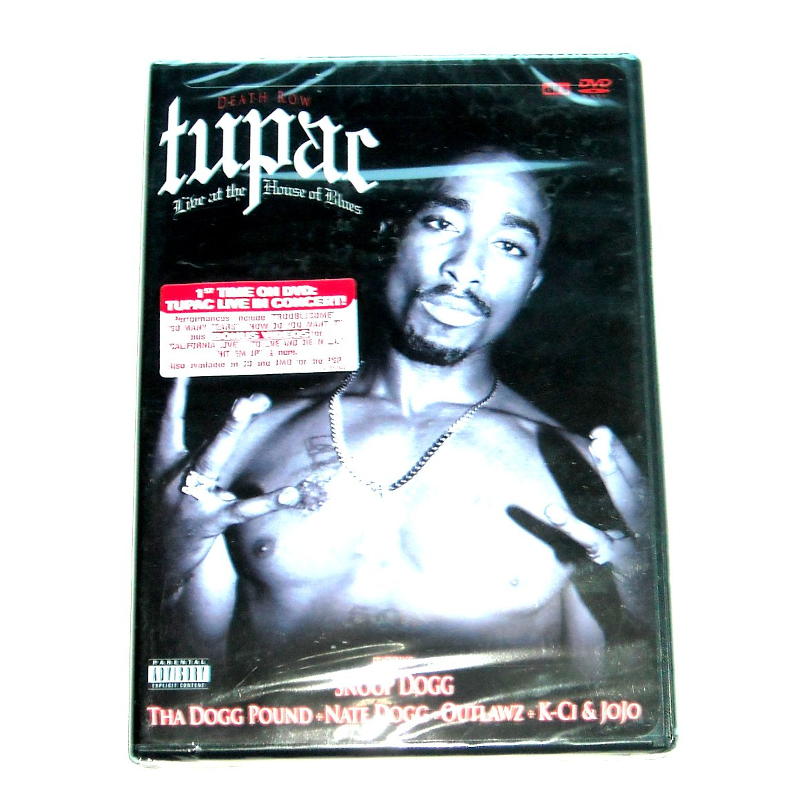 Tupac Shakur Live at the House of Blues DVD