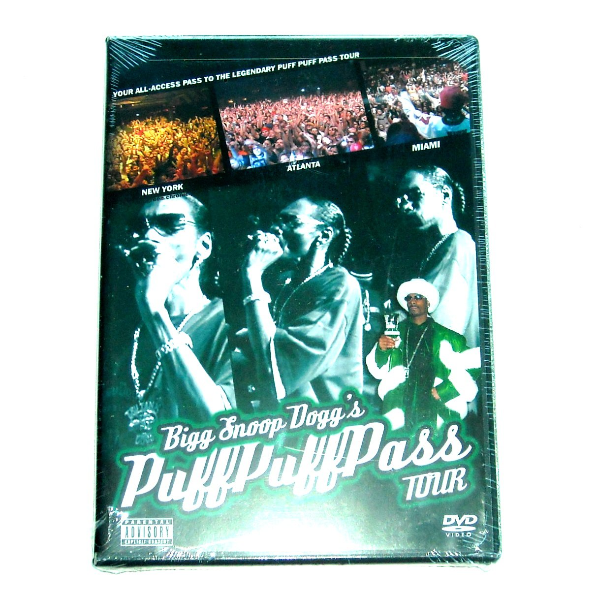 Bigg Snoop Doggs Puff Puff Pass tour DVD