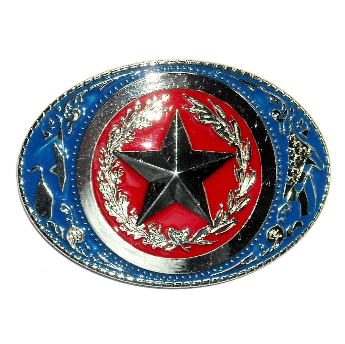 Texas Star Belt Buckle NOS