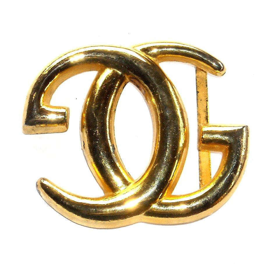 Gucci Logo Gold Gucci Classic gg Logo Vintage