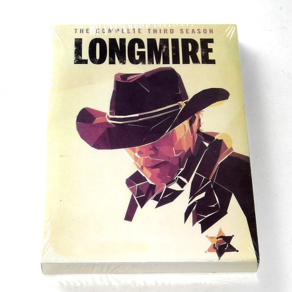 Longmire The Complete Third Season DVD
