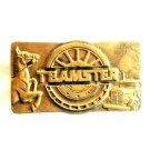 Teamster Brotherhood Union Vintage Baron Solid Brass Belt Buckle
