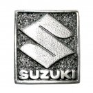 Suzuki Vintage Great American Silver Color Belt Buckle