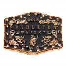 Pendleton Rodeo 2015 Cowboy Whisky Montana Silversmiths Belt Buckle