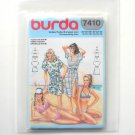 Misses Bikini Swimsuit Cover Burda Sewing Pattern 7410