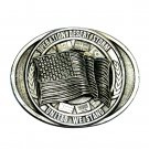 Desert Storm United We Stand Bergamot Pewter Belt Buckle