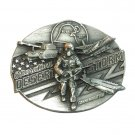 Operation Desert Storm Bergamot Pewter Belt Buckle