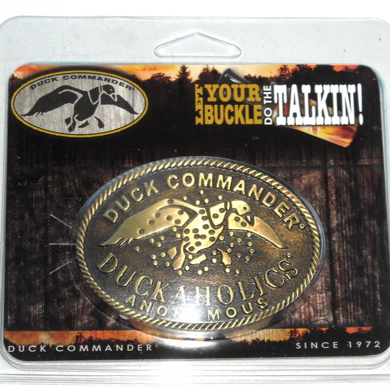 Duck Commander Montana Silversmiths Western Belt Buckle