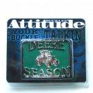 Montana Silversmiths John Deere Season Western Belt Buckle