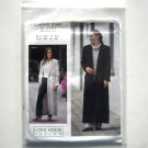 Misses Classic Coat Multisized Loes Hinse Design Sewing Pattern 5101