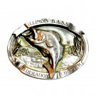 Illinois Bass American Belt Buckle