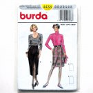 Misses Skirt Burda Sewing Pattern 4433