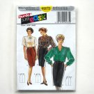 Misses Super Easy Skirt Burda Sewing Pattern 4975