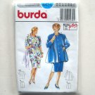Misses Skirt Top Coat Plus Burda Sewing Pattern 4434