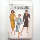 Misses Wrap Dress Size 12 Vintage Simplicity Sewing Pattern 6939