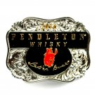 Pendleton Whisky 2016 Round Up Rodeo Montana Silversmiths Belt Buckle