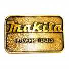 Makita Power Tools Brass Color Belt Buckle