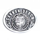 Cannon Beach State Of Oregon Seal Belt Buckle
