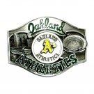 Oakland Athletics Vintage 1988 Siskiyou Pewter Belt Buckle