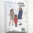 Girls Pullover Dress Kwik Sew Sewing Pattern 2592