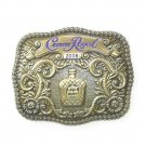 2008 Crown Royal Brass Color Belt Buckle