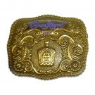 2007 Crown Royal Brass Color Belt Buckle